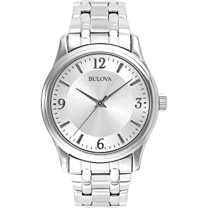 Bulova Corporate Collection Men's Watch w/Round Silver dial
